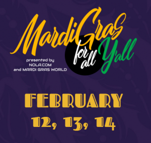 Mardi Gras for all Y'all Virtual Event
